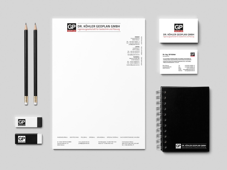 Corporate Design Dr. Köhler Geoplan GmbH